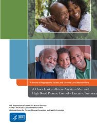 African American Men and High Blood Pressure Executive Summary