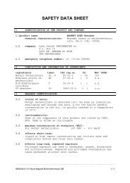SAFETY DATA SHEET - Dyna Dental