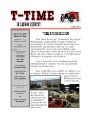 The MTFCI Annual Tour - Canyon Country Model T Club