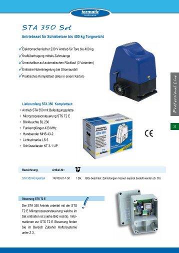 STA 350 Set - tormatic