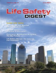 Summer 2007 - FCIA - Firestop Contractors International Association