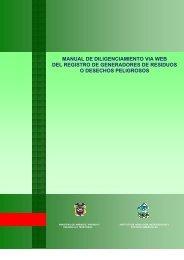 MANUAL DE DILIGENCIAMIENTO VIA WEB DEL ... - Corantioquia