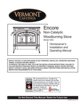 3-2425 Encore noncat 1450.indd - Ferguson's Fireplace & Stove