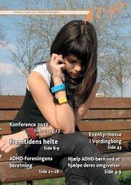 ADHD-bladet nr. 3 2012 - ADHD: Foreningen