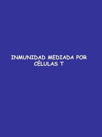 Inmunidad mediada por células T
