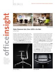 Read the January Office Insight PDF - Stylex