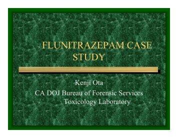 FLUNITRAZEPAM CASE STUDY