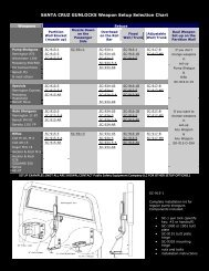 santa cruz gunlock brochure - Public Safety Equipment Company LLC