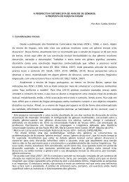 A PERSPECTIVA SISTEMICISTA DE ANÁLISE DE GÊNEROS: A ...