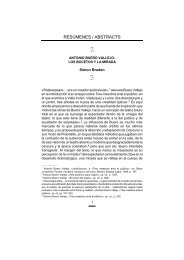 Antonio Buero Vallejo: Los bocetos y la mirada. - Resad