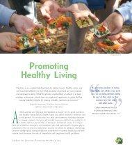 Promoting Healthy Living - California School Garden Network