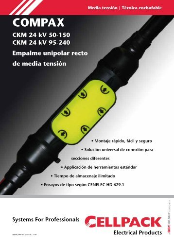 Compax Flyer - Cellpack Electrical Products