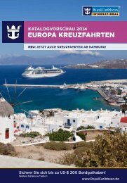 europa KreuzfahrTen - Royal Caribbean International