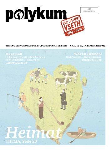Heimat THEMA, Seite 20 - VSETH - ETH Zürich