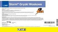 Storm® Gryzki Woskowe - BASF Pest Control Solutions Polska ...