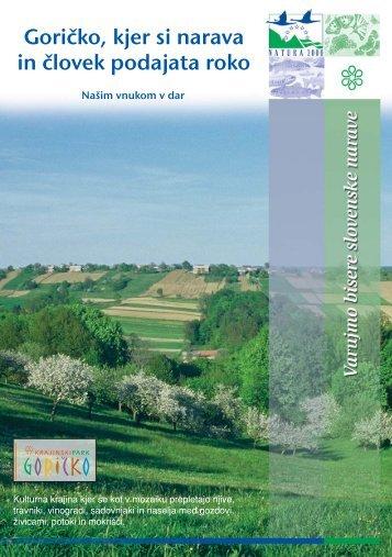 Goričko - kjer si narava in človek podajata roko ... - Natura 2000
