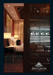 Fact Sheet - RatiLanna Riverside Spa Resort Chiang Mai