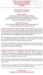 Panduan Penulisan JSM UPSI - UPM