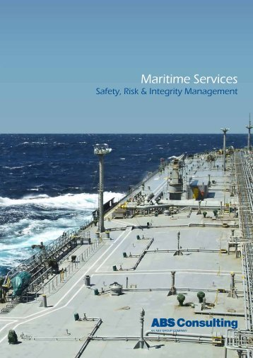 Maritime Services Overview - ABS Consulting