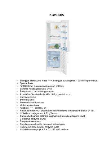 Bosch šaldytuvai, skalbyklės