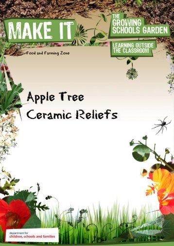Apple Tree Ceramic Reliefs - The Growing Schools Garden