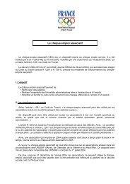 L'essentiel sur le CEA - CROS Côte d'Azur