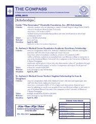 Scholarships - Notre Dame High School