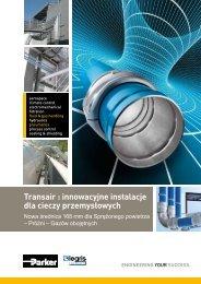 Transair : innowacyjne instalacje dla cieczy przemysłowych