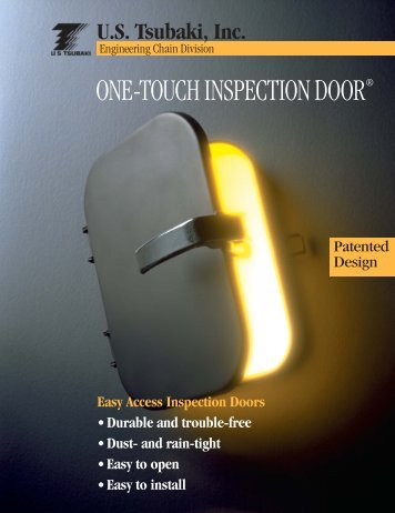 One-Touch Door - Tsubaki