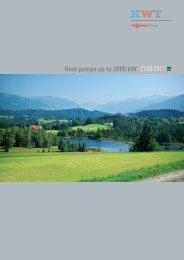 Heat pumps up to 2000 kW - Viessmann