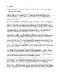 Álgebra - Historia del álgebra PDF
