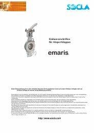 Emaris Absperrklappen - SOCLA