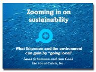 Zooming in on Sustainability