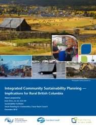 Integrated Community Sustainability Planning — - Pacific Institute for ...