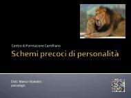 Attaccamento e schemi disfunzionali della ... - Marco Vicentini