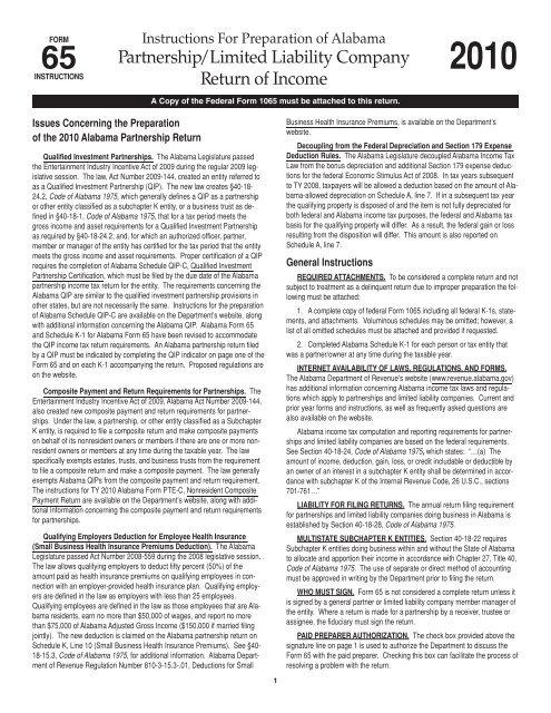 form 1065 gilti  Partnership/Limited Liability Company Return of Income ...