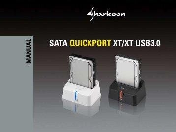 SATA QUICKPORT XT/XT USB3.0 - Sharkoon