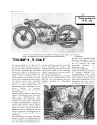 """TRIUMPH """"B 204 E"""