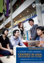 Undergraduate Prospectus 2011 2012 - National University of ...