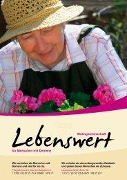 Broschüre A4 [PDF 1.3 MB] - Wohngemeinschaft für Menschen mit ...