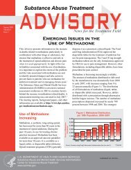 Emerging Issues In The Use Of Methadone - Addiction Treatment ...