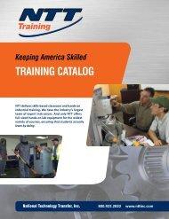 Catalog from NTT Training - NFMT