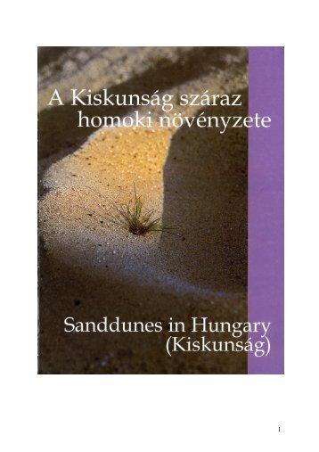 Kiskunság száraz homoki növényzete - Zöld Pók Alapítvány