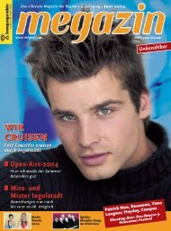 Das Lifestyle-Magazin Der Region • 9. Jahrgang • Juni - Megazin