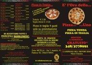 Pizza in Teglia...