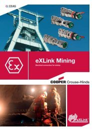 eXLink Mining - Cooper Crouse-Hinds
