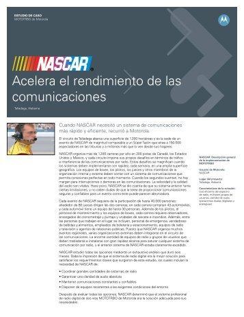 Nascar Acelera Case Study - Motorola Solutions