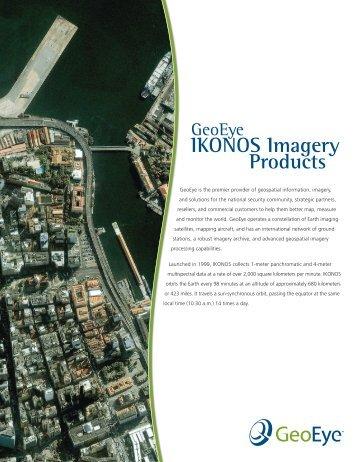 IKONOS Imagery Products - Aeroterra