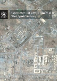 "Assessment of Environmental ""Hot Spots"" in Iraq - Disasters and ..."