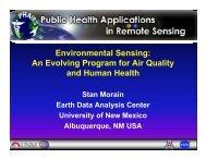 Environmental Sensing: An Evolving Program for Air Quality and ...